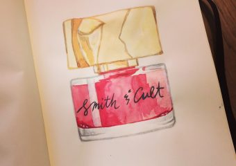New illustration: Smith & Cult nailpolish