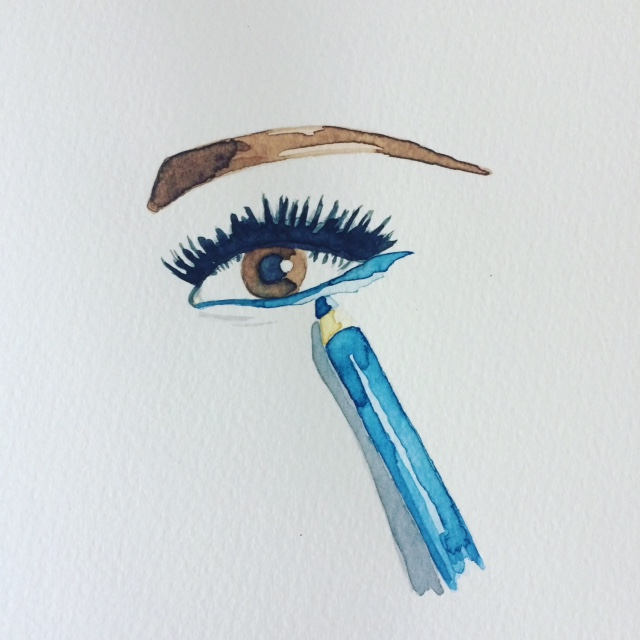 New art: Estee Lauder eye make-up